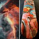 Carina Nebula - Skateboard