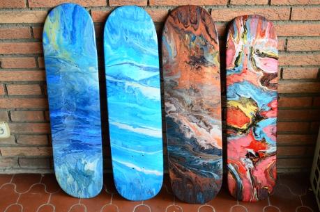 Cosmic Skatedecks