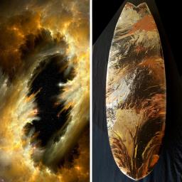 Nebula Surfboard