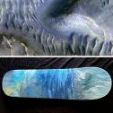 Splitting of the Dunes, Mars - Skateboard - SOLD
